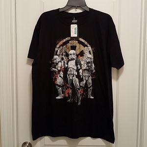 Star Wars Graphic Logo Men's T-Shirt. NWT